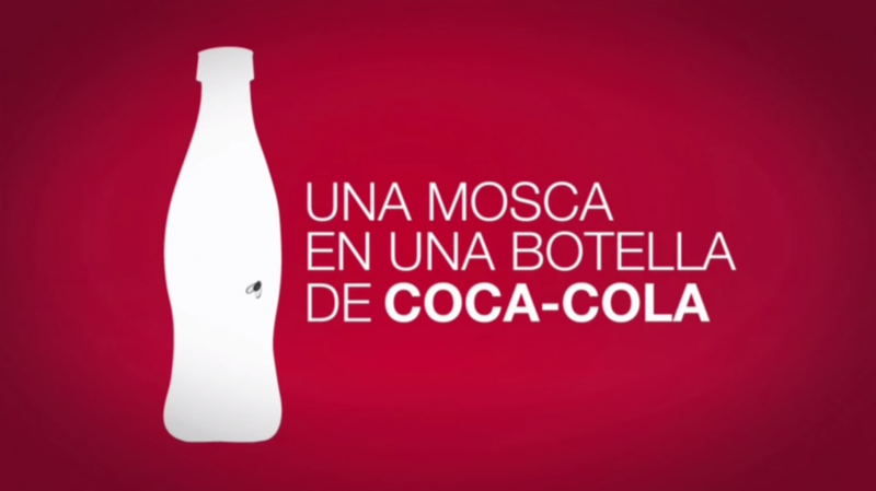 Documental UNa mosca en una botella de coca cola